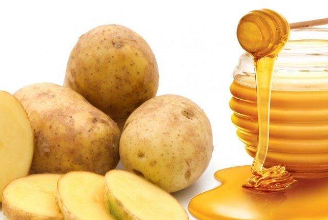 картофель и мед при лечении геморроя