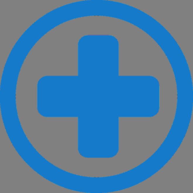 синий крест