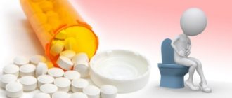 запор после приема антибиотиков
